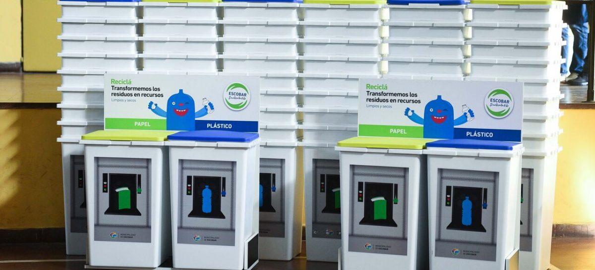 Escuelas por el Medio Ambiente: en dos meses recolectaron más de 1500 bultos de residuos reciclables