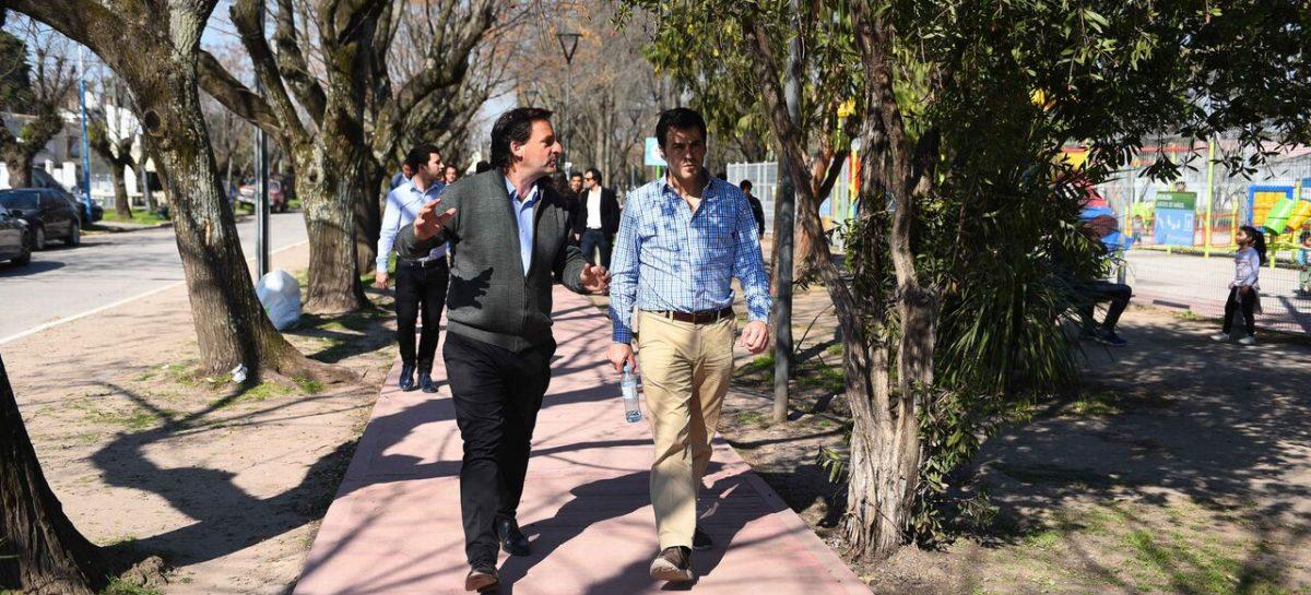 Reunión de trabajo entre Ariel Sujarchuk y Ramón Lanús para que el Estado Nacional transfiera al municipio de Escobar distintos espacios públicos de nuestro distrito