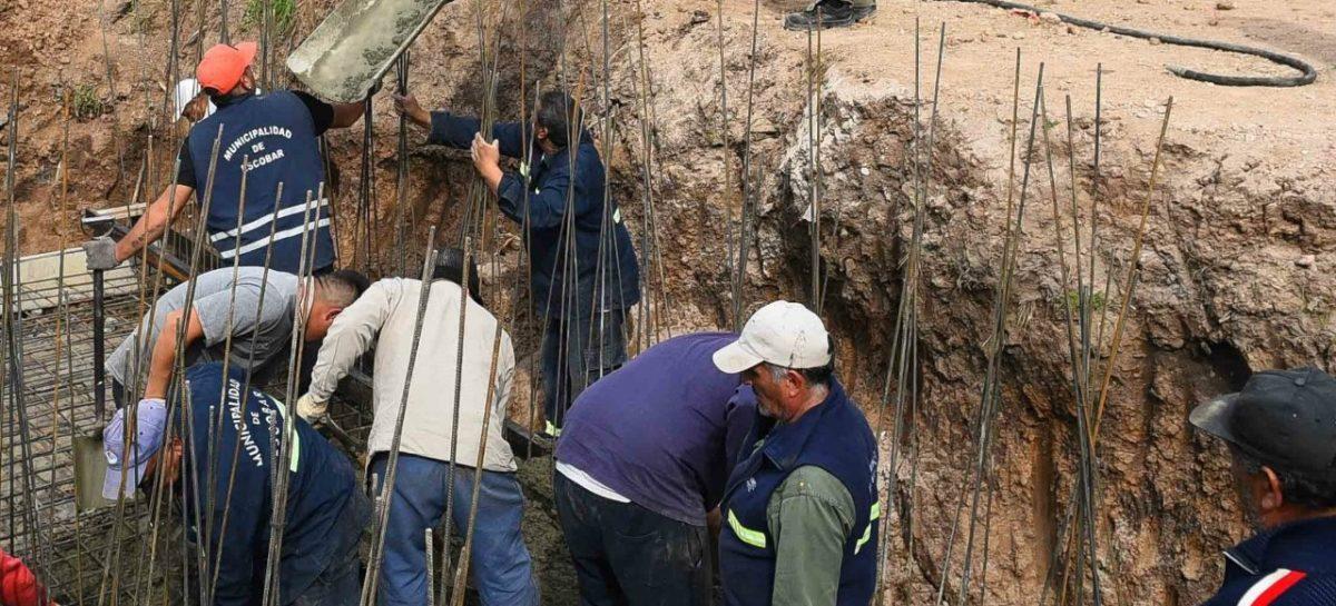 La Municipalidad de Escobar prosigue con las tareas hidráulicas para evitar inundaciones