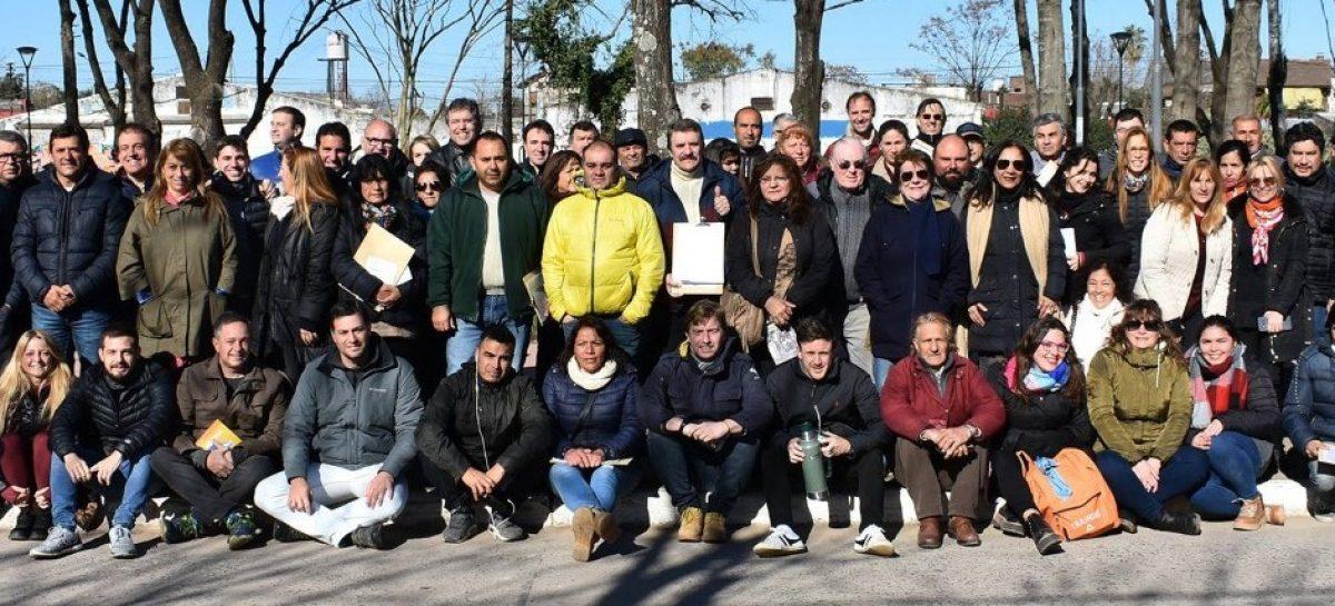 Una nueva jornada de Timbreo nacional reunió este sábado al equipo de Cambiemos Escobar