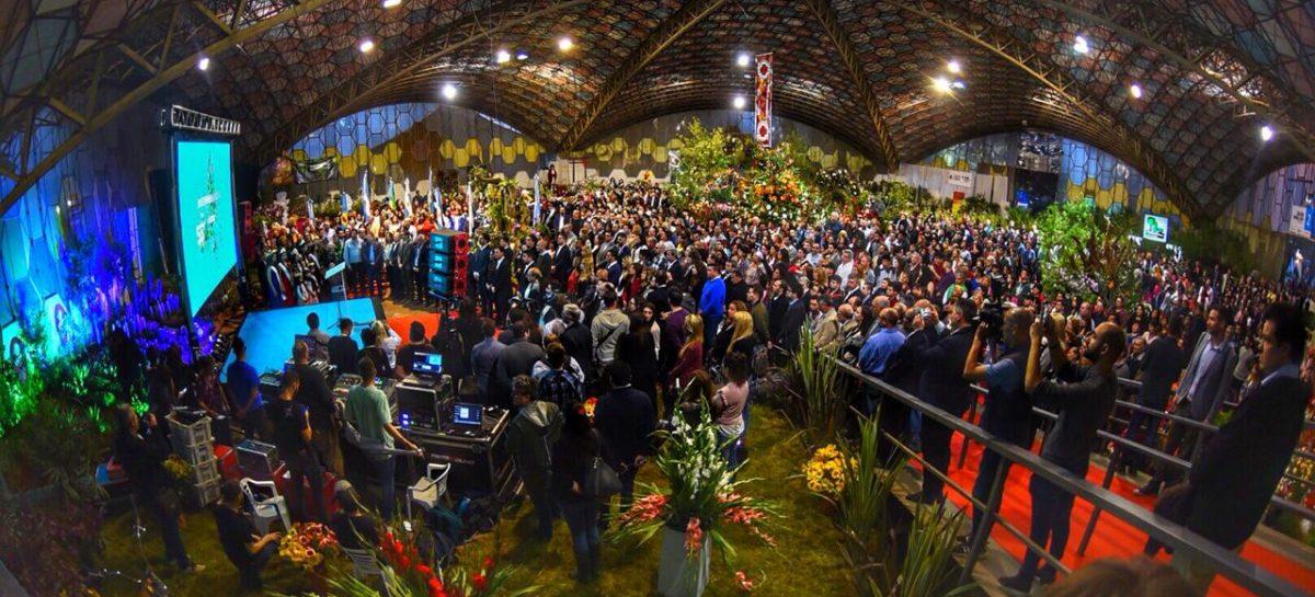 Ariel Sujarchuk inauguró la 55ª edición de la Fiesta Nacional de la Flor