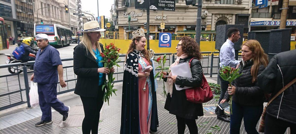 Distintas acciones de la Municipalidad de Escobar para promocionar la 55ª Fiesta Nacional de la Flor