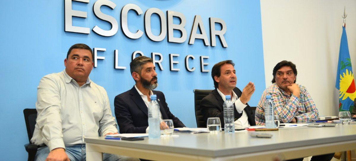 Ariel Sujarchuk anunció un plan integral de seguridad vial para todo el partido de Escobar