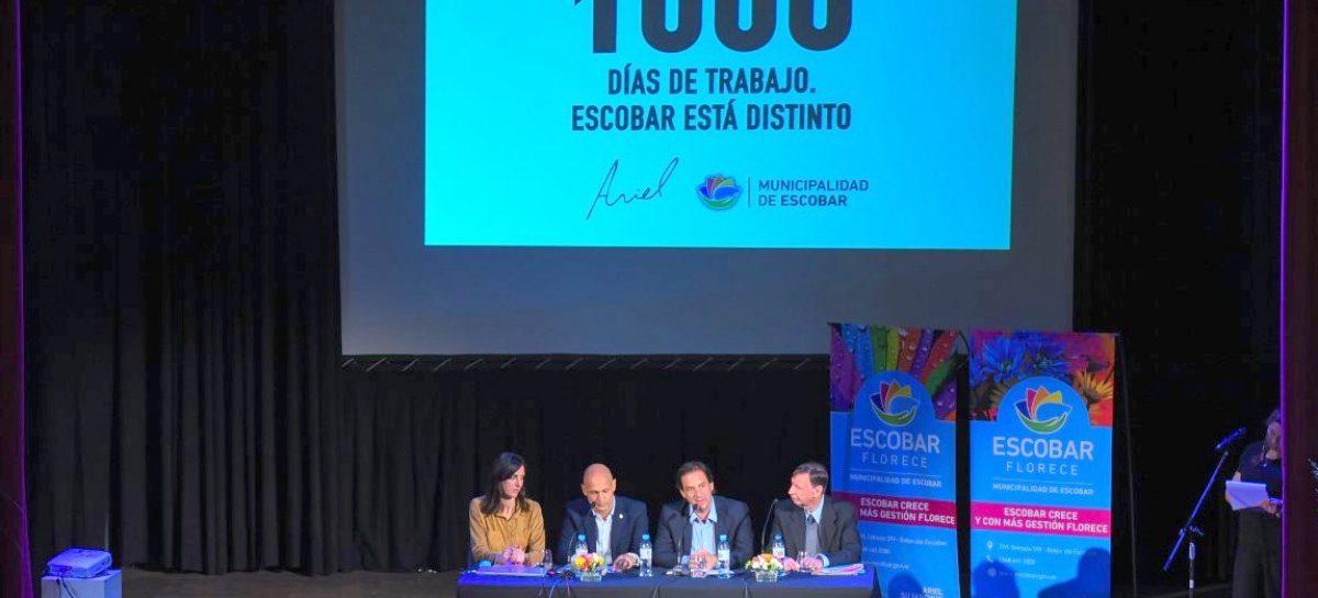 Escobar fue sede de un encuentro que convocó a más de 100 especialistas en Ciencias Económicas
