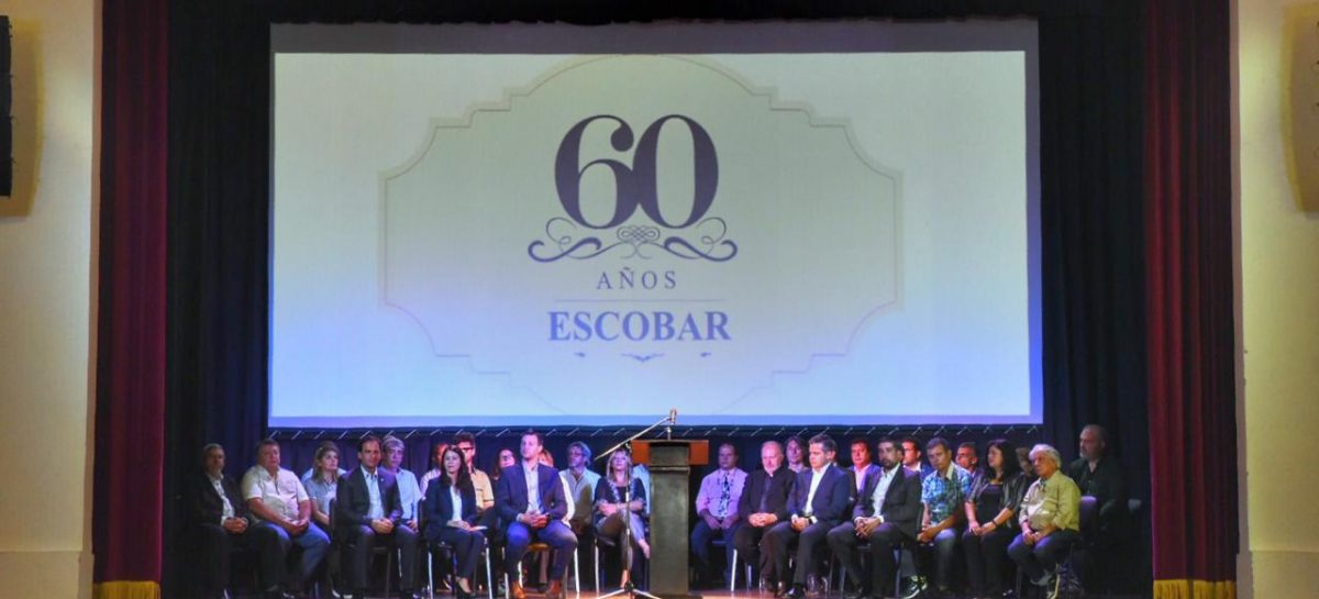 Se encuentra abierta la inscripción para participar del 60° aniversario del Partido de Escobar