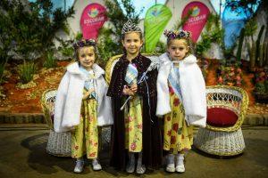 31º reina infantil nacional del capullo