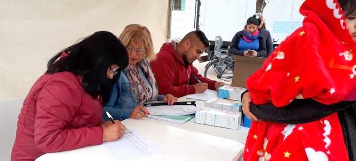 Más de 300 niños recibieron vacunas contra el sarampión, la rubéola y la papera en distintos centros de salud del partido de Escobar