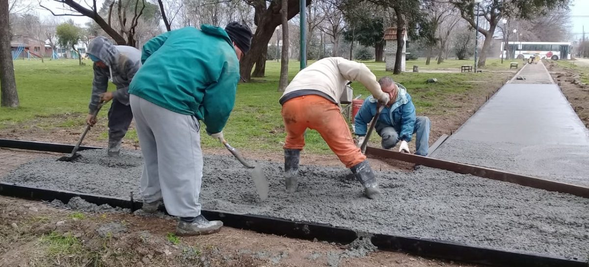 El municipo avanza con las obras votadas por los vecinos en el Presupuesto Participativo