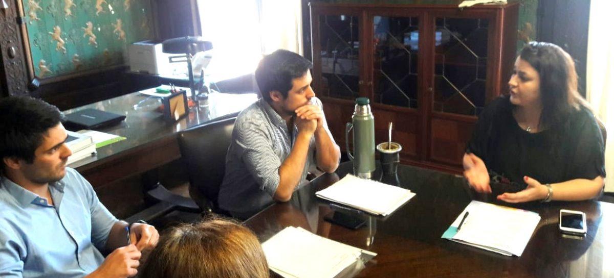 La Defensora del Pueblo de Escobar se reunió con los Titulares de la Agencia Nacional de Discapacidad