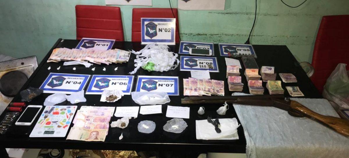 Por un llamado al 0800 municipal, desbaratan una banda  integrada por tres mujeres que comercializaban droga en Garín