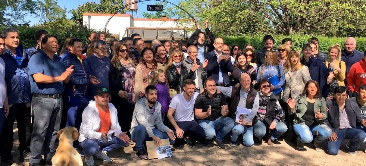 Timbreo: Leandro Costa sigue recorriendo el distrito