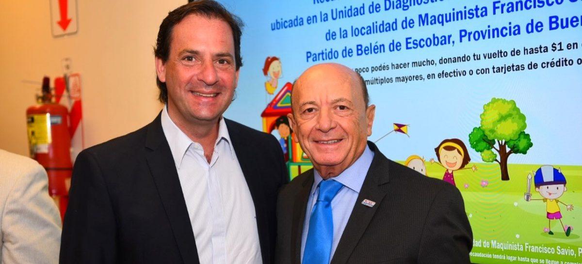 Convenio entre la Municipalidad de Escobar y Coto para ampliar la Unidad de Diagnóstico Precoz de Maquinista Savio