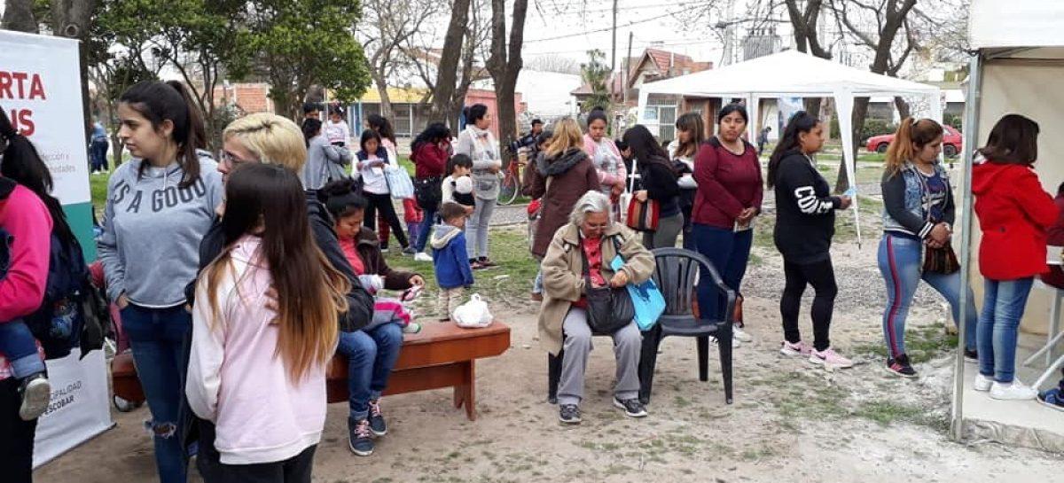 La Municipalidad de Escobar está realizando en Matheu sus habituales operativos sanitarios