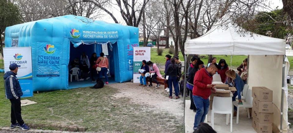 Operativos sanitarios municipales: la próxima semana habrá atención en Belén de Escobar