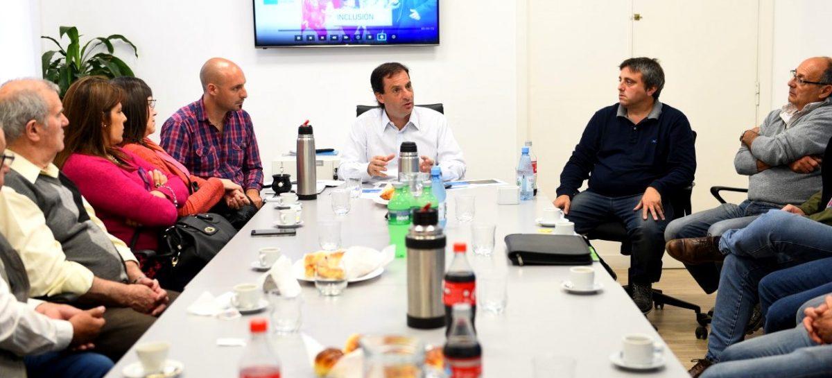 Fructíferas reuniones de trabajo entre Ariel Sujarchuk y comerciantes de Belén de Escobar y Matheu