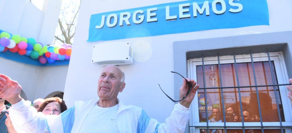 Identidad Escobar: el polideportivo anexo de Garín lleva el nombre de Jorge Lemos