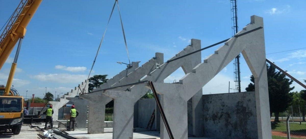 La Municipalidad de Escobar avanza con la construcción del microestadio de Garín