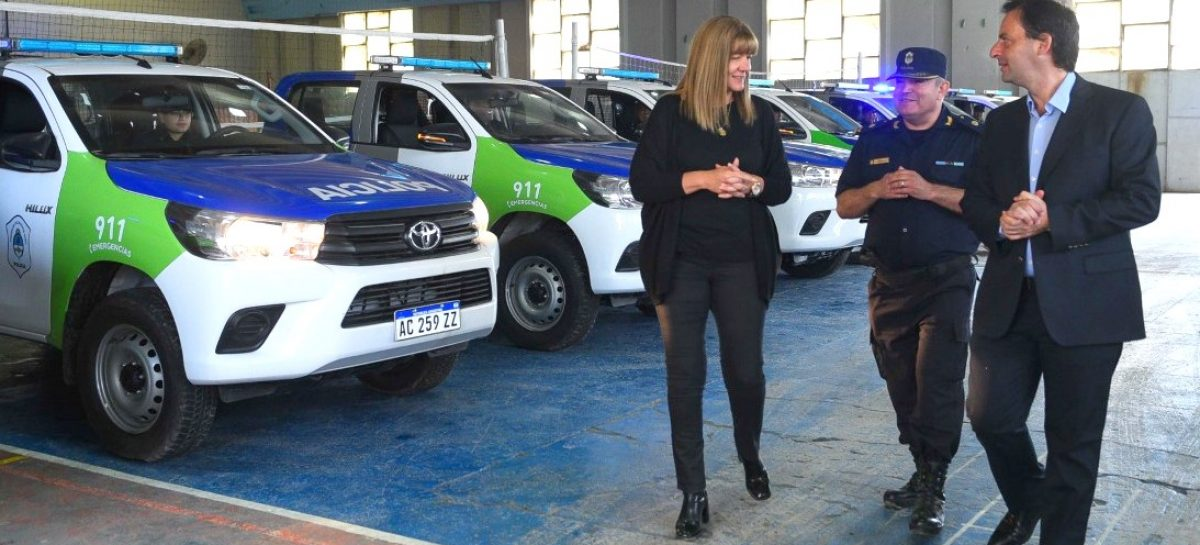 La Municipalidad de Escobar incorpora 14 móviles policiales para patrullar todo el distrito