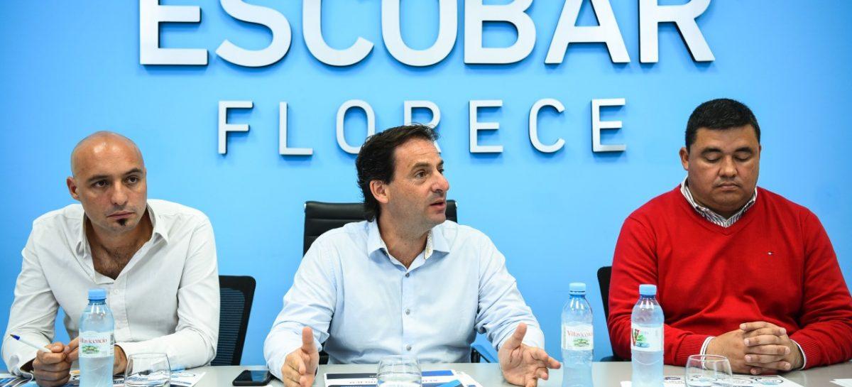 Ariel Sujarchuk anunció la reconversión de 8257 luminarias en el partido de Escobar