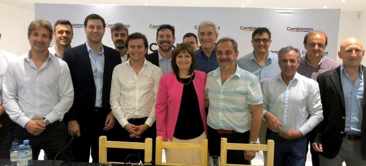 Cambiemos: precandidatos a intendentes se reunieron en Vicente López con Patricia Bullrich