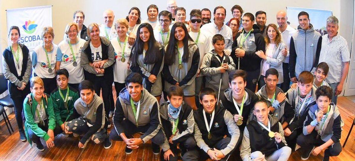 La Municipalidad de Escobar reconoció a más de 30 atletas que representaron al distrito en los Juegos Evita y en los Bonaerenses 2018