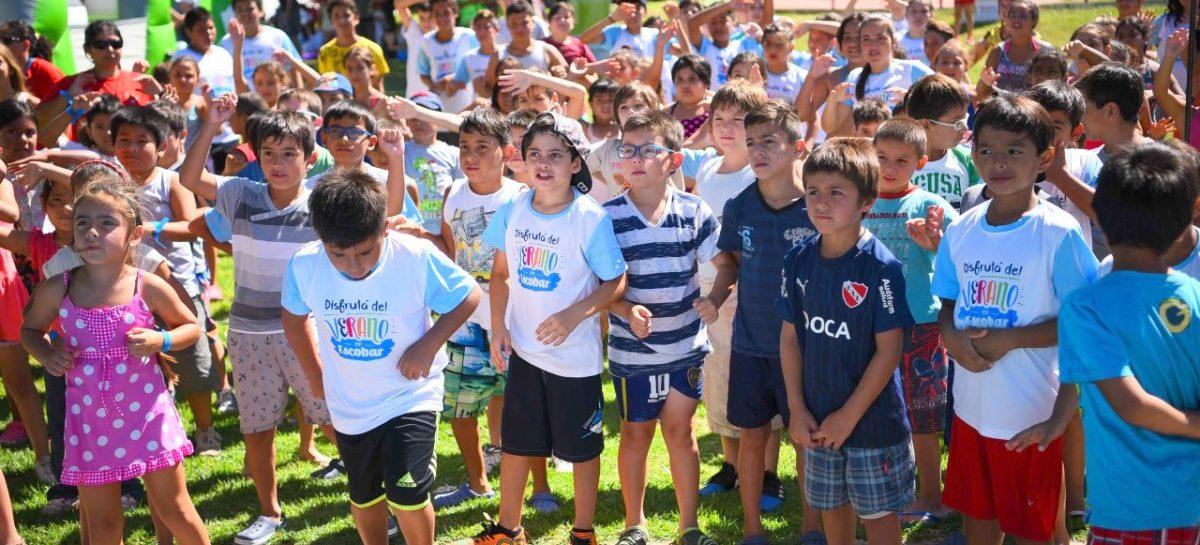 Colonias de verano: por la gran demanda, se duplicaron los cupos y unos 3000 chicos podrán participar