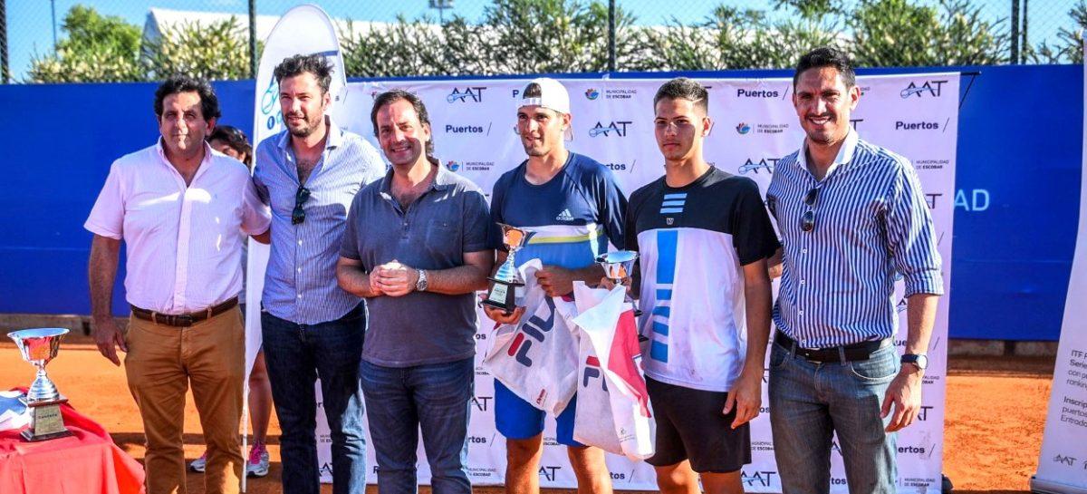 El joven tenista Santiago Rodríguez Taverna se consagró campeón de la Copa Escobar 2018