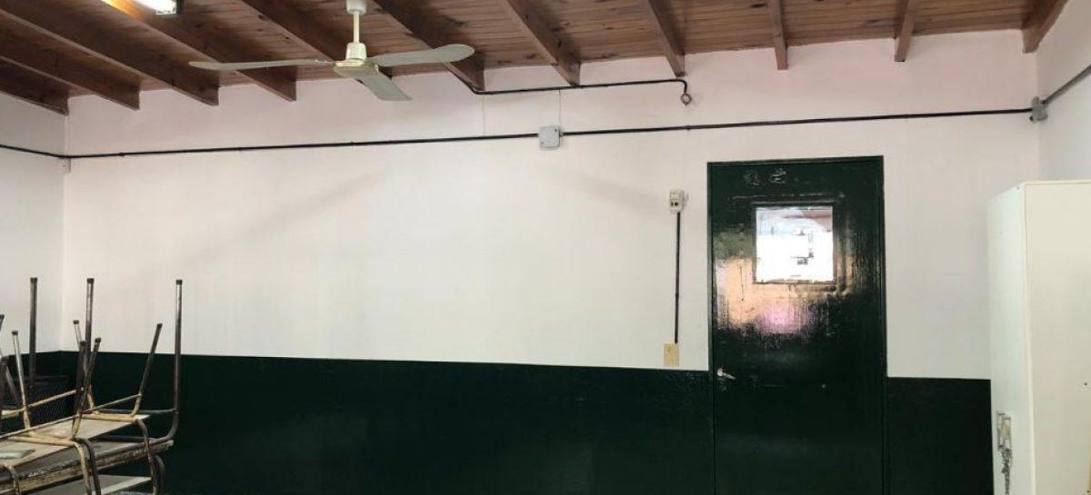 La Municipalidad continúa con el plan de mejoras y arreglos en las escuelas del partido de Escobar
