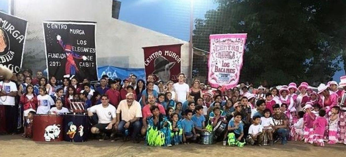 Cambiemos: entregan equipamiento a 6 entidades dedicadas a la murga y al deporte de distintos puntos del distrito