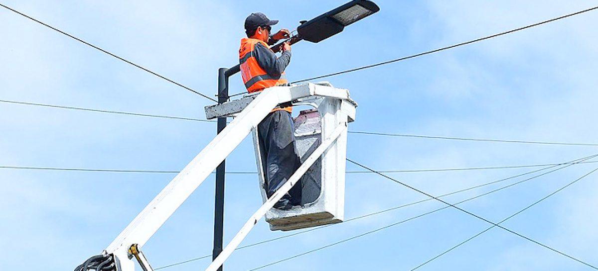 La Municipalidad de Escobar instaló 280 nuevas luminarias de tecnología LED