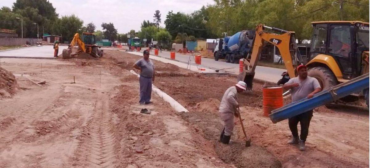 La Municipalidad de Escobar prosigue con las tareas de pavimentación, estabilizado y bacheo