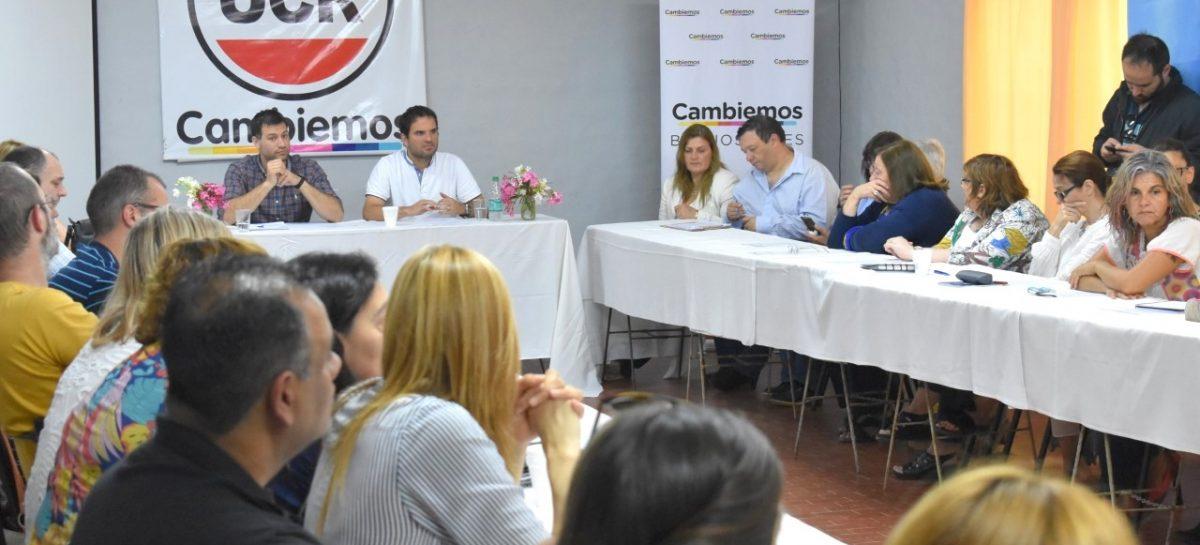 Con gran concurrencia se dio inicio éste sábado, en la localidad de Belén, al Consejo de Docentes de Cambiemos Escobar