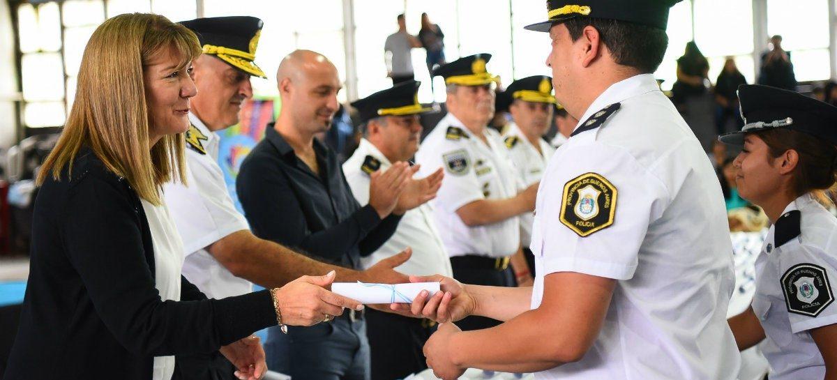 La Municipalidad de Escobar distinguió a los agentes de policía de destacada actuación durante 2018