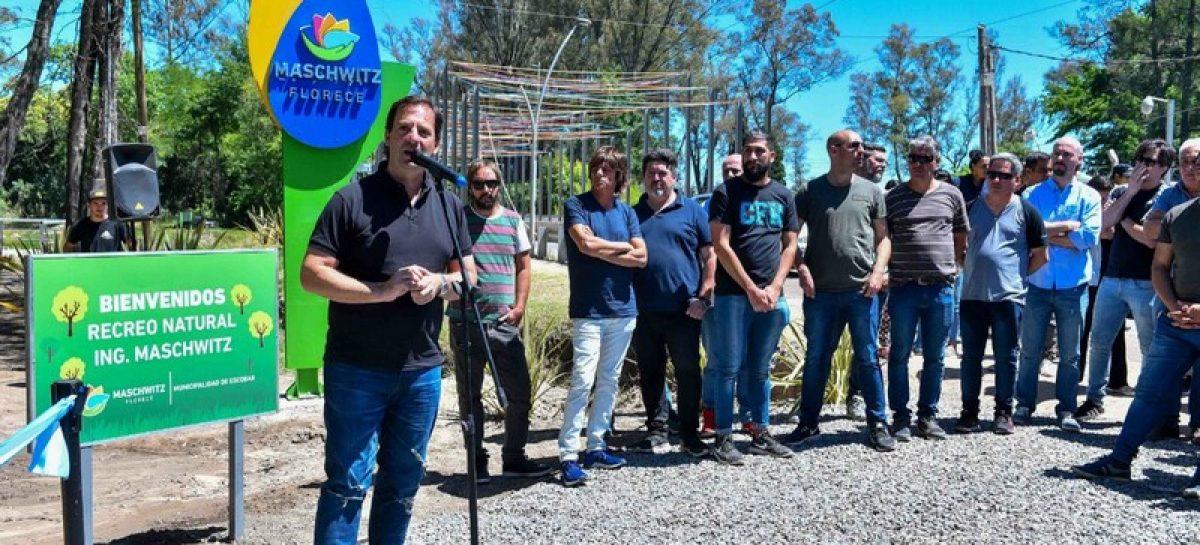 La Municipalidad de Escobar inauguró el recreo vecinal del Puente La Arenera