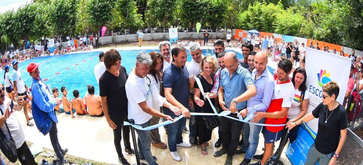 El intendente Ariel Sujarchuk inauguró la pileta semiolímpica municipal en el polideportivo de Ingeniero Maschwitz