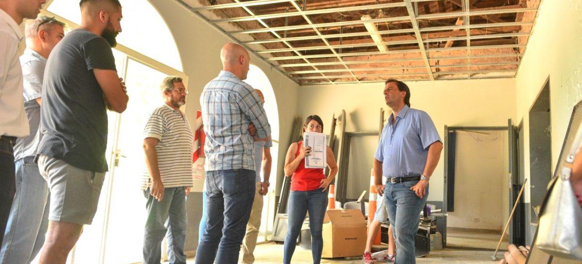 En Ingeniero Maschwitz, el intendente supervisó las obras del cuarto jardín municipal