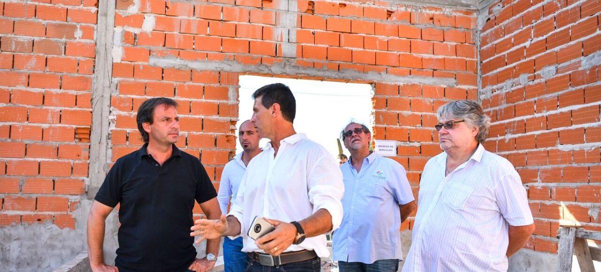 En el cementerio de Belén de Escobar, la Municipalidad construye una sala velatoria y el primer crematorio del distrito