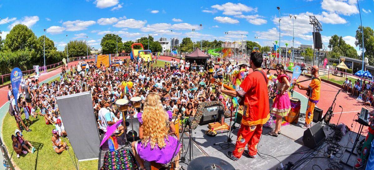 Acto de cierre de las Colonias de Verano organizadas por la Municipalidad de Escobar