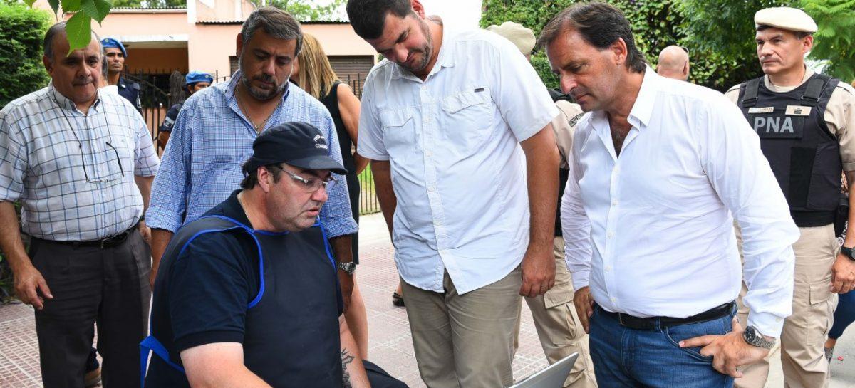 El intendente municipal y Eugenio Burzaco supervisaron operativos conjuntos en Ingeniero Maschwitz y recorrieron las obras de ampliación del Centro de Monitoreo de Garín
