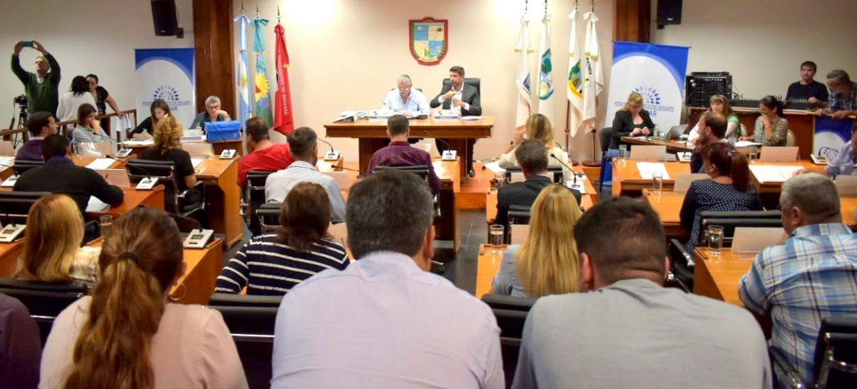 Presidida por el concejal Pablo Ramos, se llevó a cabo la Tercera Sesión Ordinaria del Concejo Deliberante de Escobar