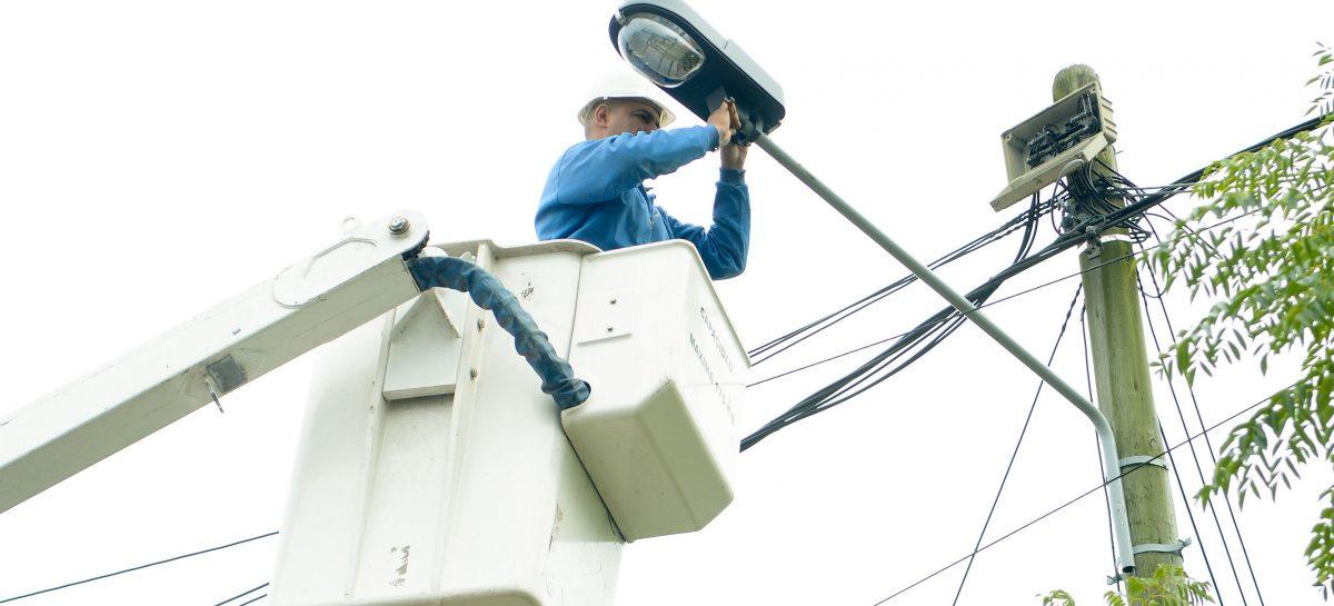 En el primer trimestre de 2019, la Municipalidad de Escobar reparó e instaló 2.655 nuevos puntos de luz