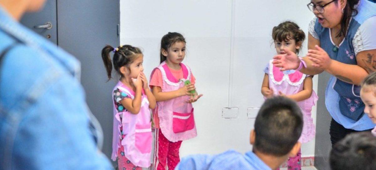 Arrancó el ciclo lectivo de los Centros de Desarrollo Infantil con un 40% más de chicos y chicas