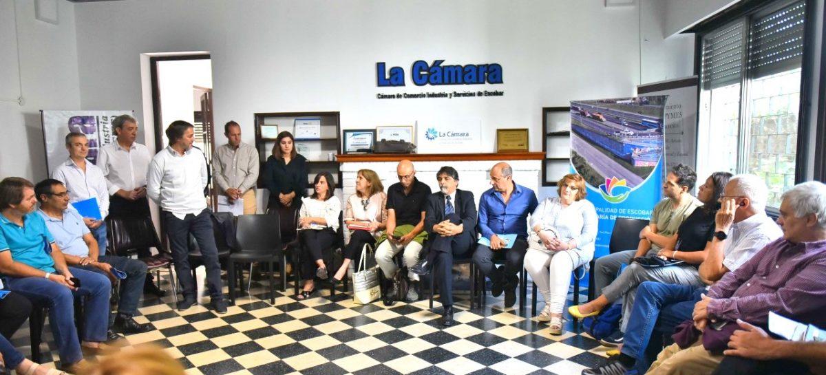 La Municipalidad de Escobar realizó la primera reunión del Consejo Provincial de Educación y Trabajo (COPRET) en el distrito