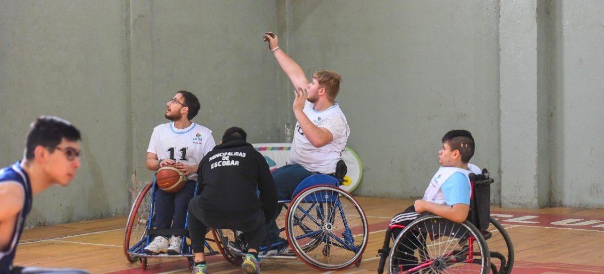 La Municipalidad de Escobar suma atletismo integrado y parataekwondo a la grilla de actividades deportivas del área de Discapacidad