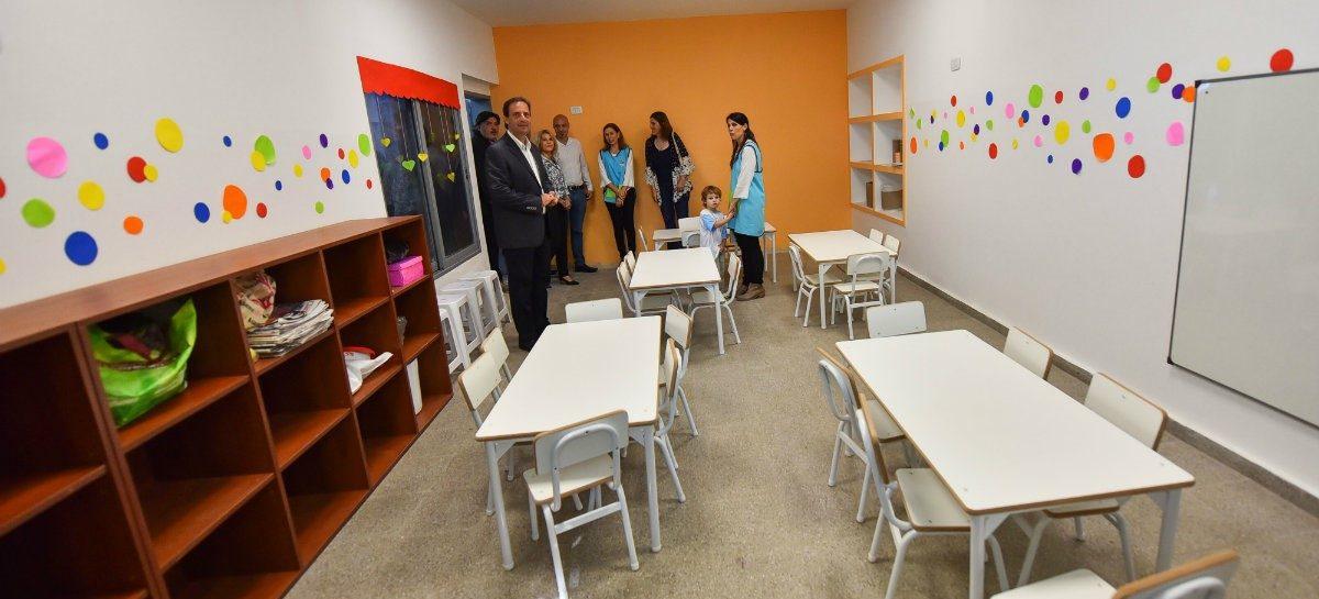 En Ingeniero Maschwitz, Ariel Sujarchuk inauguró el cuarto Jardín de Infantes municipal