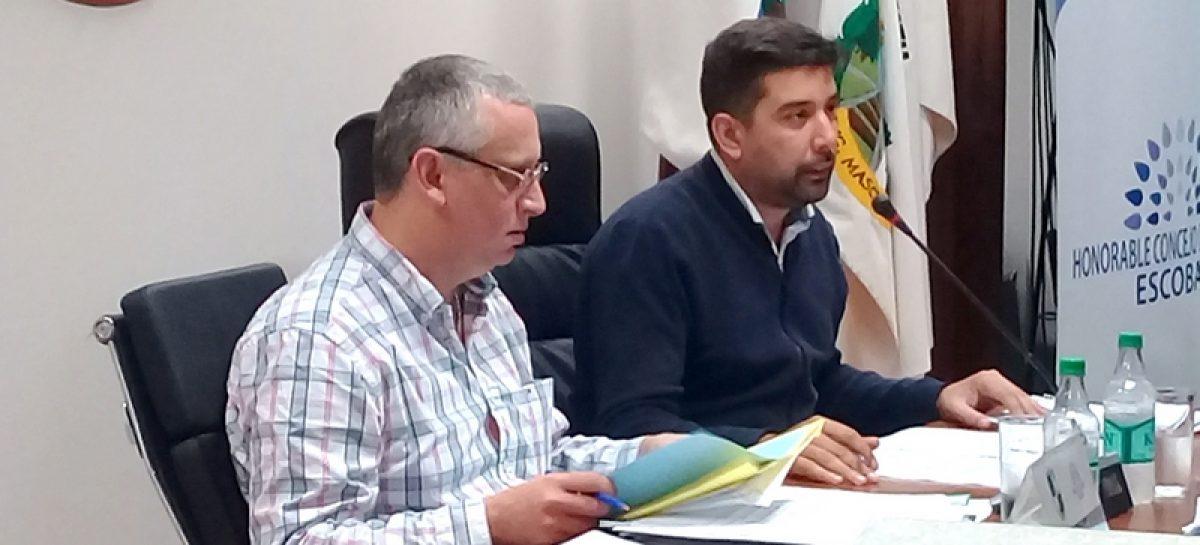 Presidida por el concejal Pablo Ramos, se llevó a cabo la Quinta Sesión Ordinaria del Concejo Deliberante de Escobar