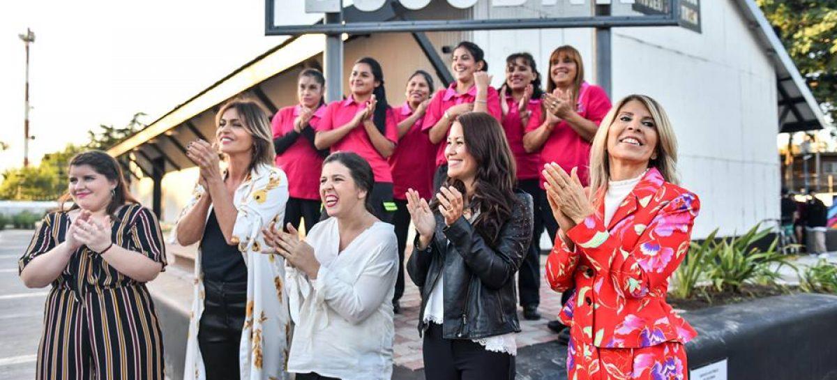 """Laura Russo participó en actividades formativas e inspiradoras para mujeres: """"como nunca antes en la historia nosotras podemos, decidimos y hacemos"""""""