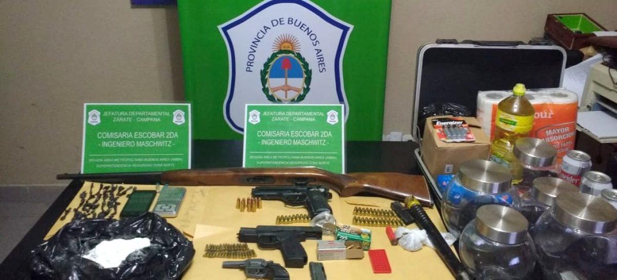 Desbaratan a una peligrosa banda de narcotraficantes en Ingeniero Maschwitz gracias a una denuncia al 0800 municipal