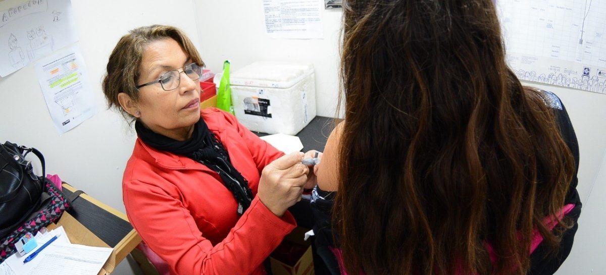 La Municipalidad de Escobar comenzó con la campaña de vacunación antigripal 2019