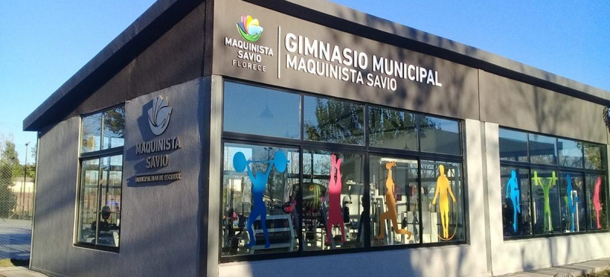 En Maquinista Savio quedó inaugurado el primer gimnasio municipal de musculación del distrito